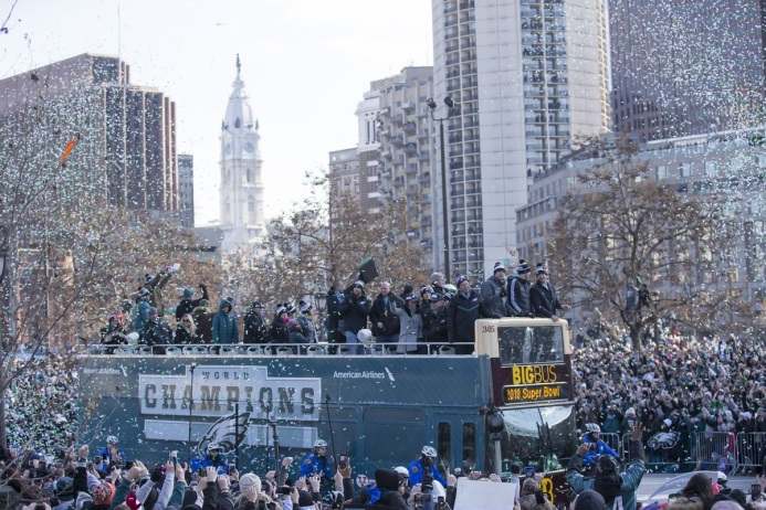 eagles parade 1